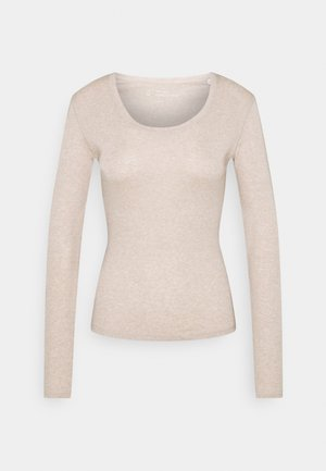 DAILY  - Long sleeved top - macadamia