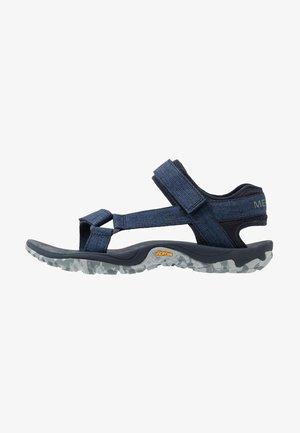 KAHUNA - Chodecké sandály - navy