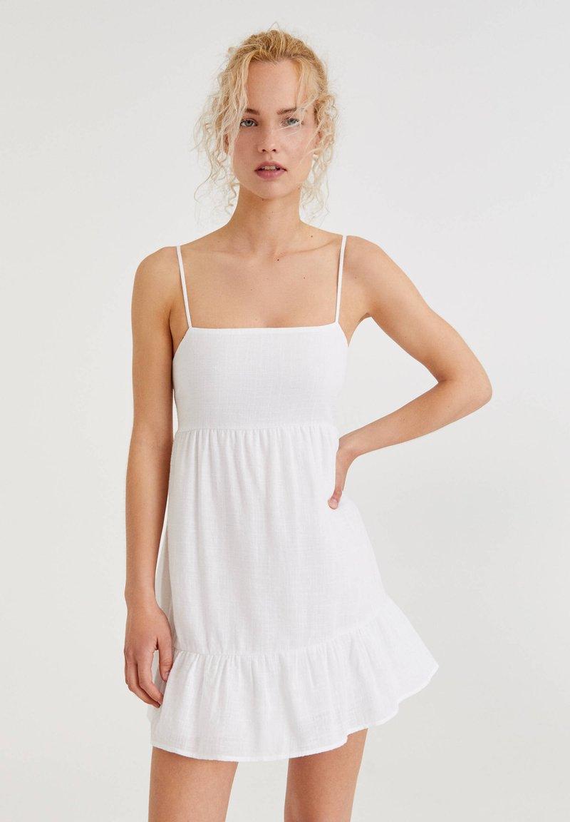 PULL&BEAR - Day dress - white