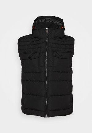 ÄRMELLOS - Waistcoat - black