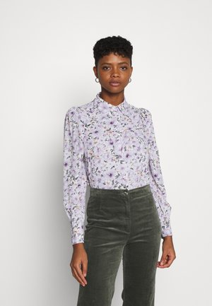 ONLTAMARA FLOWER - Button-down blouse - white
