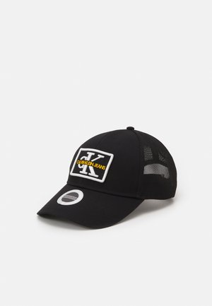 MONO EMBRO PATCHTRUCKER UNISEX - Cap - black