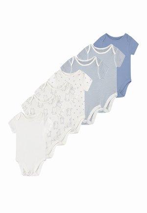 BABY ORGANIC BODYSUITS 7 PACK - Body - blue