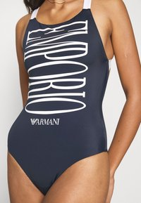 Emporio Armani - SWIMSUIT - Swimsuit - marine - 3