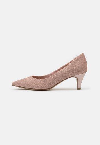 COURT SHOE - Classic heels - rose