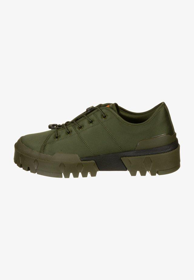HMR PEAK LO - Chaussures de skate - smog green/amber