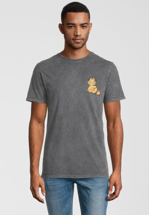 GARFIELD - T-shirt print - grau