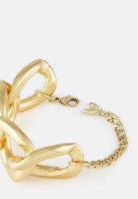 Patrizia Pepe - CHAIN ATTRACTION BRACELET - Bracelet - antique gold-coloured - 1