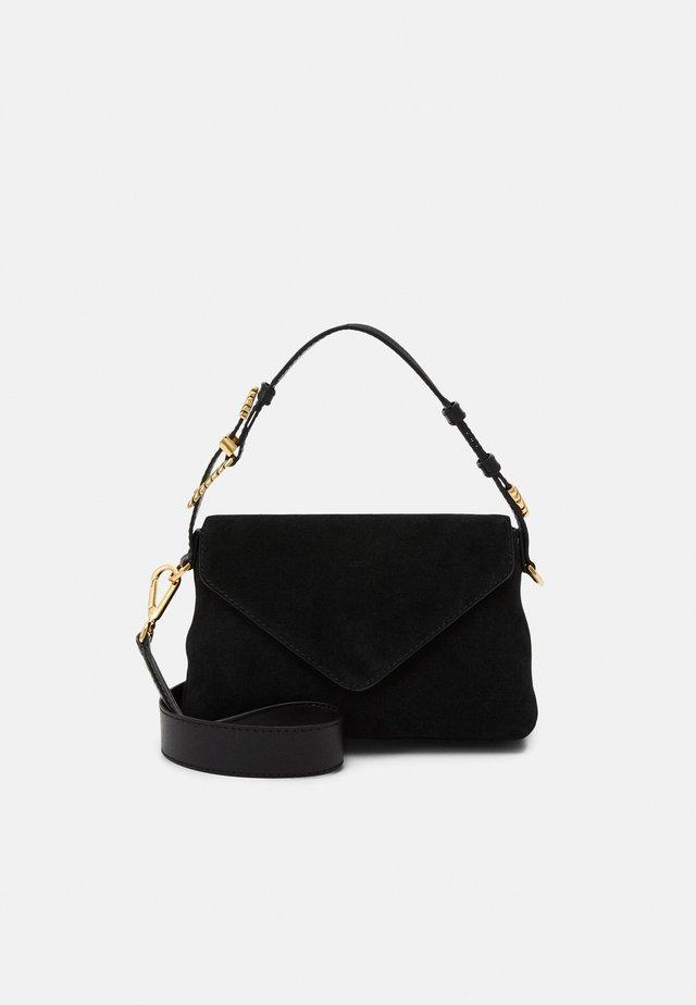 SHOULDER BAG FLAP - Handbag - black
