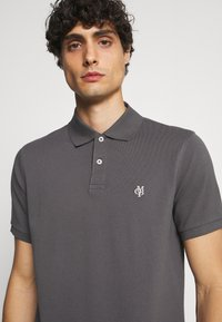 Marc O'Polo - SHORT SLEEVE BUTTON PLACKET - Polo shirt - gray - 3