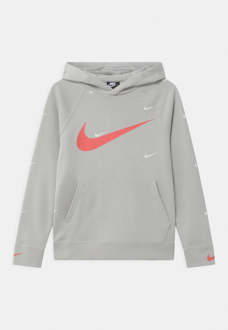 Nike Sportswear - HOODED UNISEX - Mikina s kapucí - grey fog/infrared