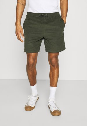 DYED SOCCO - Shorts - forest night