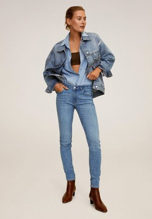 Jeans Skinny Fit - middenblauw