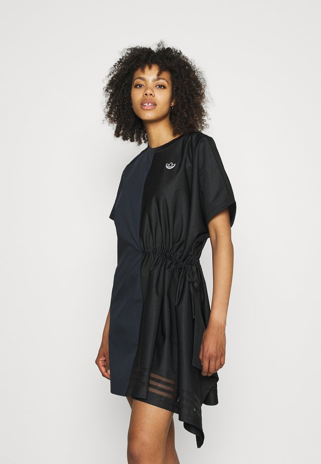 TEE DRESS - Day dress - black