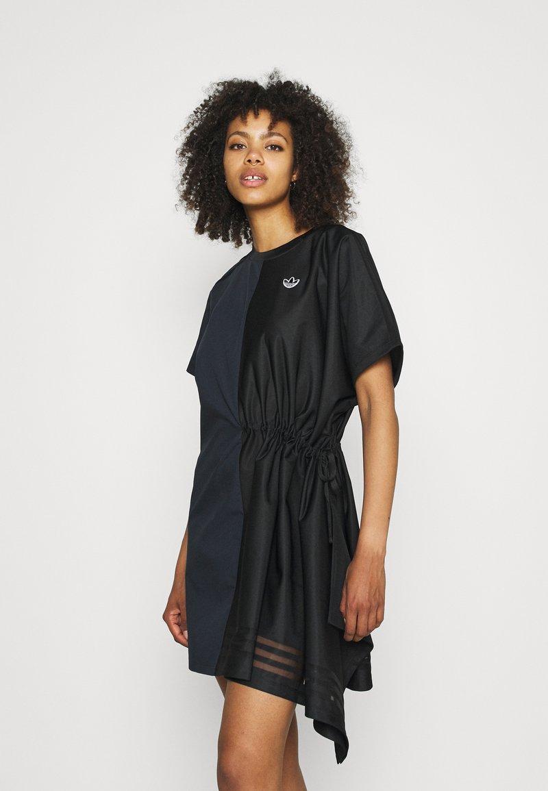 adidas Originals - TEE DRESS - Vestido informal - black