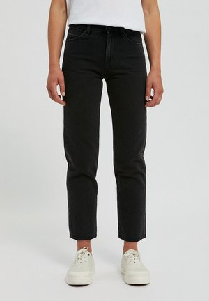 Jeans Straight Leg - black-grey