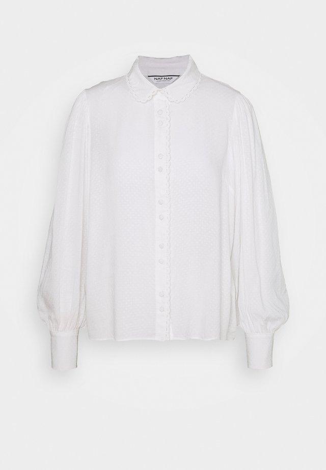 FLORINA - Camicia - ecru