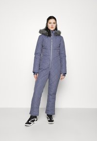 Missguided - SKI QUILTED CORSET SNOW - Jumpsuit - grey - 0