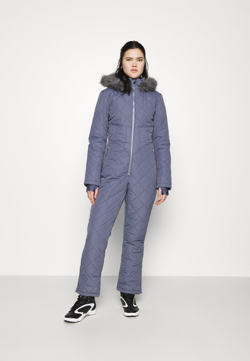 Missguided - SKI QUILTED CORSET SNOW - Jumpsuit - grey