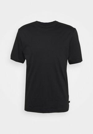 ACE MOCK NECK - Jednoduché triko - black