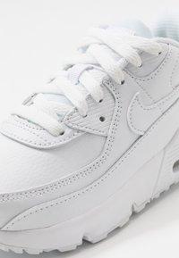 Nike Sportswear - AIR MAX 90 UNISEX - Sneakers laag - white/white - 2