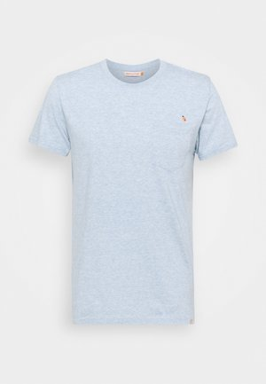 REGULAR - Print T-shirt - light blue