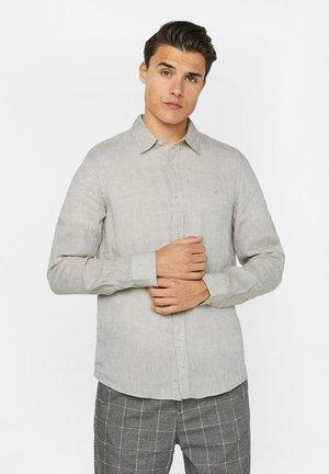 SLIM-FIT - Košile - beige