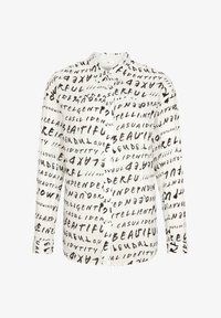 comma casual identity - Button-down blouse - grey graffity aop - 5