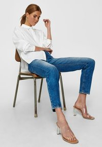 ONLY - Button-down blouse - white - 3