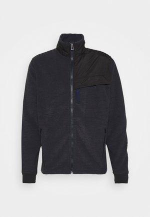 ZIP THROUGH UNISEX - Mikina na zip - dark blue