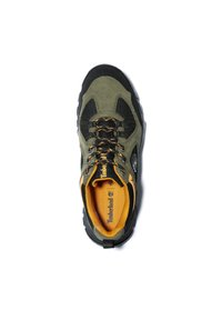 Timberland - GARRISON TRAIL LOW GTX - Casual lace-ups - dark green suede - 3