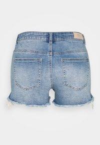 ONLY Tall - ONLCARMEN LIFE - Denim shorts - medium blue denim - 1