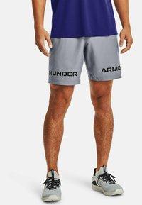 Under Armour - GRAPHIC SHORT - Sportovní kraťasy - steel - 0