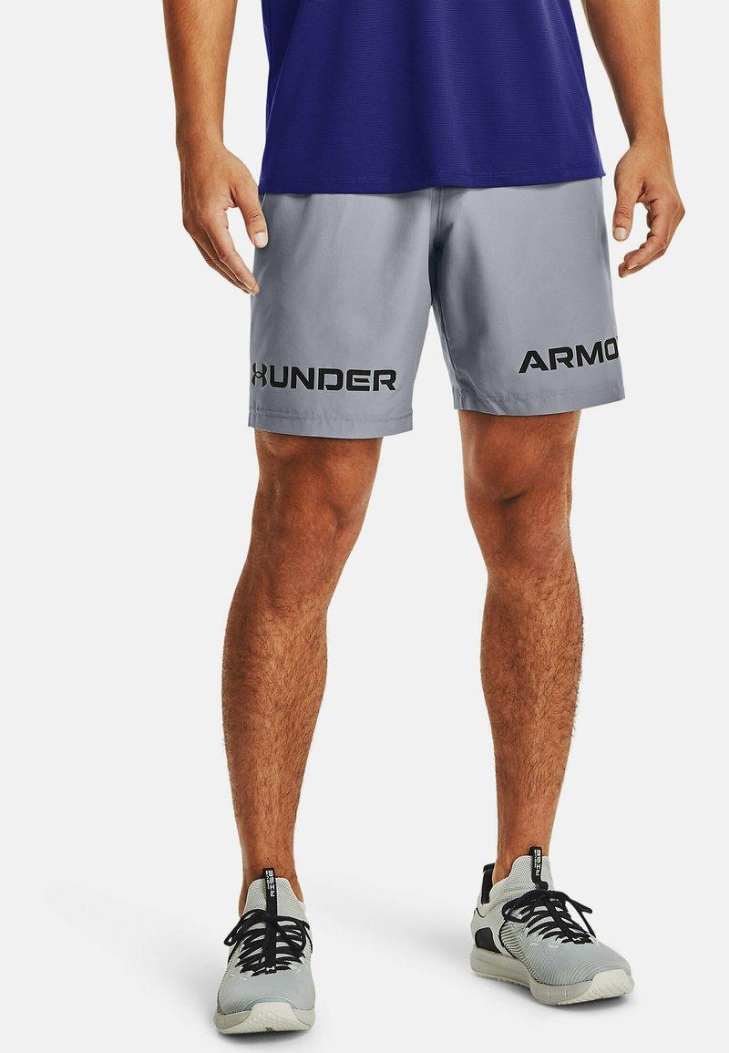 Under Armour - GRAPHIC SHORT - Sportovní kraťasy - steel