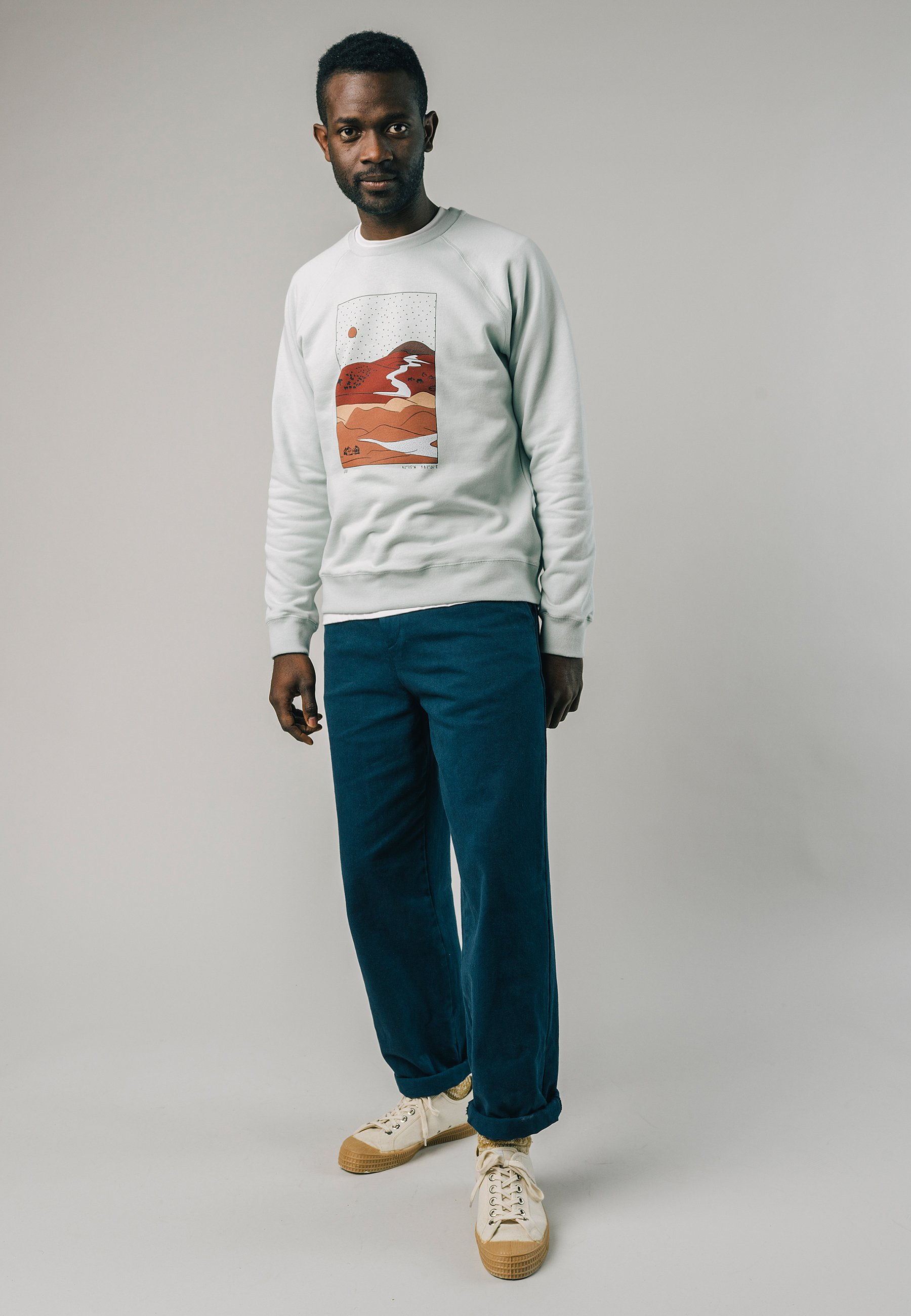 Homme GOBI SEA FORAM - Sweatshirt
