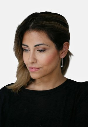 OHRHÄNGER - Earrings - dark grey