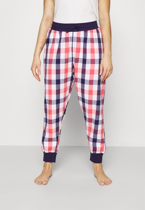 COSY CHECK CUFFED TROUSER - Pyjama bottoms - multi coloured