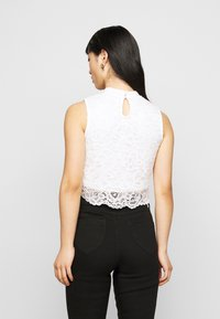 Even&Odd Petite - Top - black/white - 2