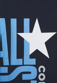 Converse - ALL STAR STACKED TEE - T-shirt con stampa - obsidian - 2
