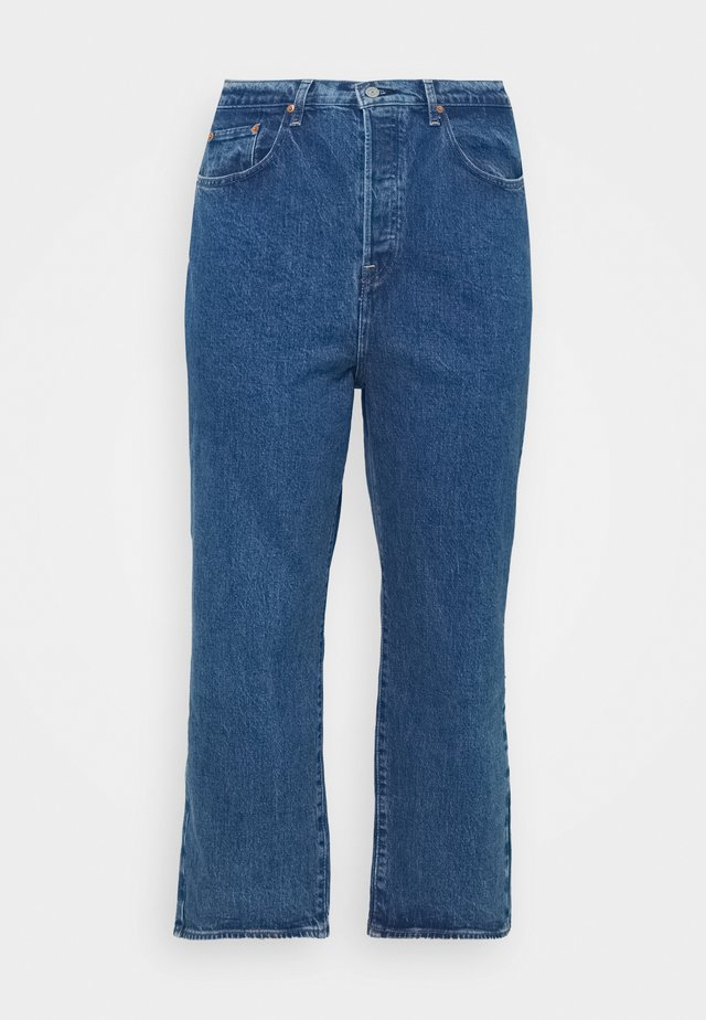 RIBCAGE STRAIGHT ANK - Straight leg jeans - georgie