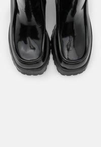 Jeffrey Campbell - JAGGET - Kotníkové boty na platformě - black - 5