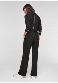 s.Oliver BLACK LABEL - Trousers - black - 2