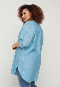 Zizzi - Blouse - blue stripe - 2