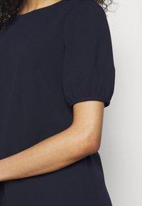 Lauren Ralph Lauren - LUXE TECH DRESS - Shift dress - lighthouse navy - 5
