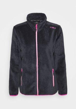WOMAN JACKET - Fleece jacket - titanio