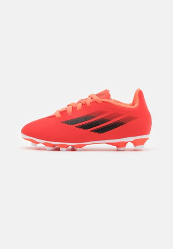 X SPEEDFLOW.4 FXG UNISEX - Moulded stud football boots - red/core black/solar red