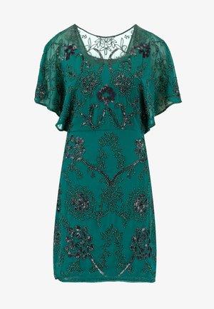 Koktejlové šaty/ šaty na párty - fir green