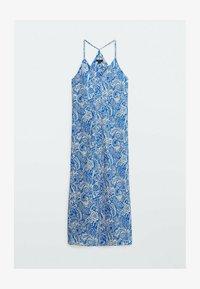 Massimo Dutti - Maxi dress - blue - 3