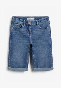Next - Denim shorts - royal blue - 4