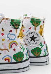 Converse - CHUCK TAYLOR ALL STAR UNISEX - Zapatillas altas - white/multicolor/black - 5